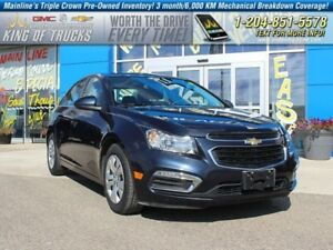 2015 Chevrolet Cruze LT w/1LT I Fuel Efficient  - $92.26 B/W