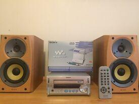 Sony CD player and Walkman