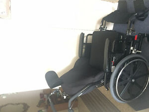 Selling wheelchair in perfect condition