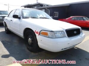 2011 FORD CROWN VICTORIA INTERCEPTOR 4D SEDAN INTERCEPTOR