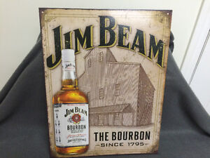 New Jim Beam Tin Sign London Ontario image 2