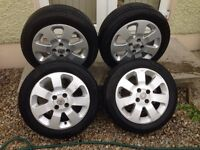 """15"""" Vauxhall Corsa C SXi Alloys 4x100"""