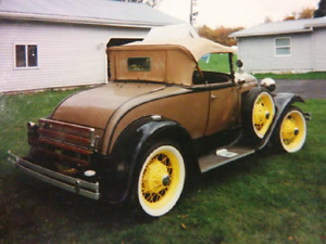 1930 Model A Ford Convertible