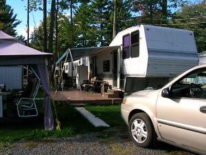 Roulotte de camping
