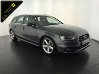 2012 62 AUDI A4 S LINE TDI QUATTRO AVANT 4WD 1 OWNER SERVICE HISTORY FINANCE PX