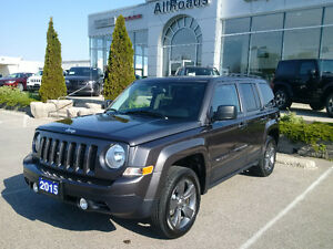 2017 Jeep Patriot North High Altitude 4x4 with Nav only 18000kms London Ontario image 7