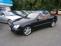 Mercedes CLK CLK 200 KOMPRESSOR AVANTGARDE (black) 2007
