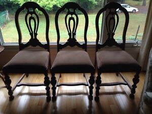 Antique chairs 3 recovered
