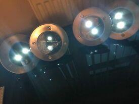Brand new solar lights