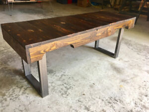Reclaimed Pallet Wood Front Hall Bench