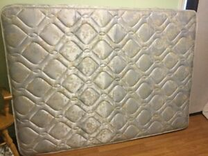 delivery included- double mattress and boxspring