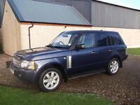 Land Rover Range Rover 3.6TD V8 auto Vogue, Storry 4x4
