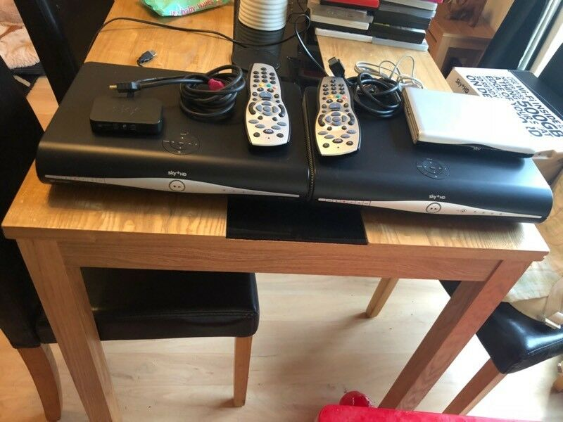 2x Sky+HD boxes & sky router