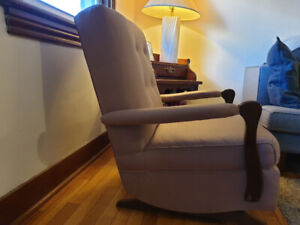 Rocking chair with springs - sturdy