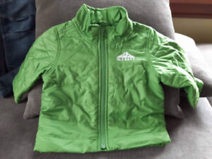Old Navy Puffy Coat - Size 12-18 mths