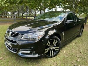 2015 Holden Ute VF MY15 SV6 Storm Black 6 Speed Manual Utility Richmond Hawkesbury Area Preview