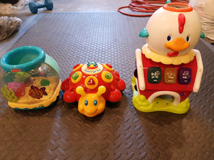 Learning music toys