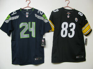SEATTLE SEAHAWKS / PITTSBURGH STEELERS NIKE OFFICIAL FOOTBALL NW