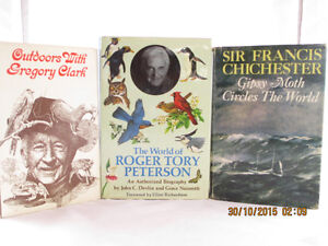 3 Hardcover books with an Outdoors Theme for Sale