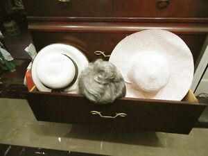 Hats and wig for costume