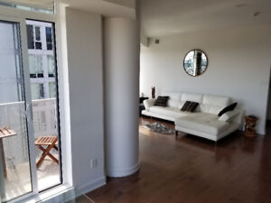 SUNNY 21st FLOOR CONDO FOR RENT DOWNTOWN! FURNISHED!