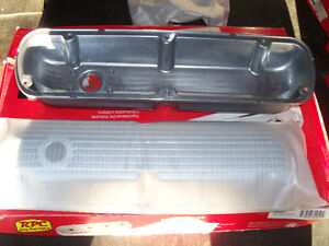 SB FORD ALUMINUM FINNED VALVE COVERS NEW IN BOX London Ontario image 3