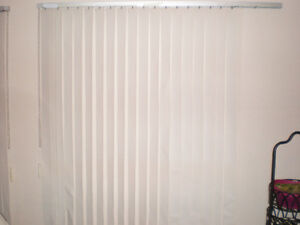 OFF WHITE VERTICAL BLINDS