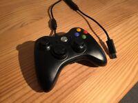 Genuine Microsoft Xbox 360 Wired PC Controller - Black
