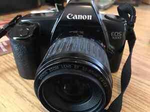 Canon EOS-1000 (Rebel) 35 Film Camera