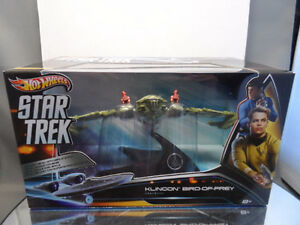Hot Wheels Star Trek 1/50th Scale Klingon Bird of Prey