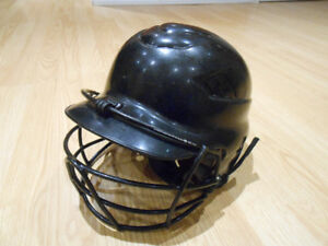 Rawlings Baseball helmet with cage (casque de baseball)