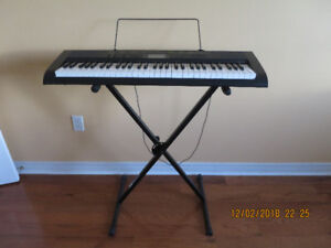 ***CASIO CTK-1100 ELECTRONIC KEYBOARD WITH STAND***
