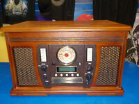 Record Player unit with Radio, CD & Tape player