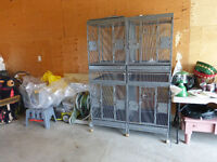Large Bird Cage - Converts to 3 sizes - for home or business