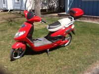 For Sale:  Sparber Electric Scooter