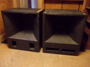 Pair of 350 watt Fabian 15 inch in Cabinets/Bins