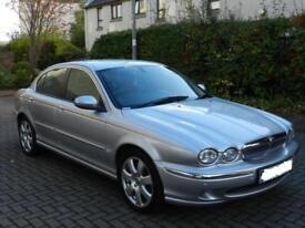 Jaguar X-TYPE 2.0D 2006 SE, Saloon, Silver, 1 Years Mot, Just Serviced, Sat Nav