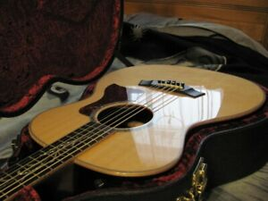 8 string baritone Taylor acoustic electric guitar