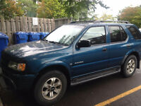2001 Isuzu Rodeo SUV, Crossover
