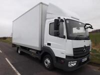 2015 Mercedes-Benz Atego 7.5 Tonne Truck Euro 6 20ft Box Body Column Tail Lift