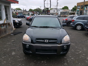 2006 Hyundai Tucson v6 leather