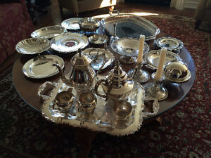 Numerous pieces of silverplate Peterborough Peterborough Area image 2