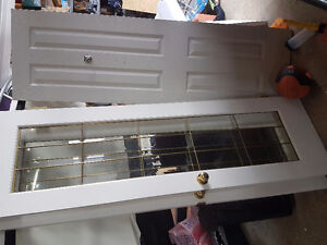 "24"" French doors and assorted 4 panel Colonial doors $"