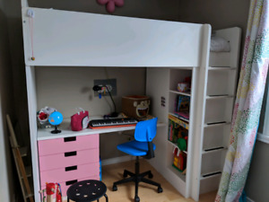 Ikea stuva loft bed Greenwood/Danforth