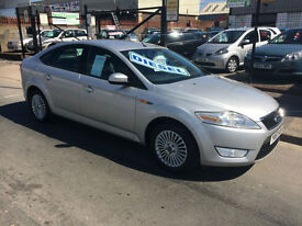 2008/57 Ford Mondeo 2.0TDCi 140 Zetec 5dr DIESEL 6 Speed New Shape £2995