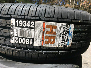 Brand new never installed tires only.