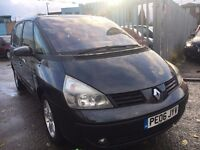 RENAULT GRAND ESPACE 2.2 DIESEL PRIVILEGE MANUAL 7 SEATER 2006 PANORAMIC ROOF KEYLESS ENTRY