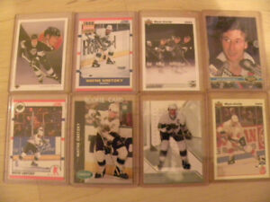 Wayne Gretzky 154 hockey card collection