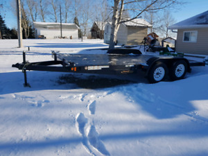 Brand New 16ft flat bed trailer
