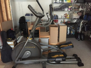 Livestrong LS10.0E Elliptical, with Owners manual and User guide